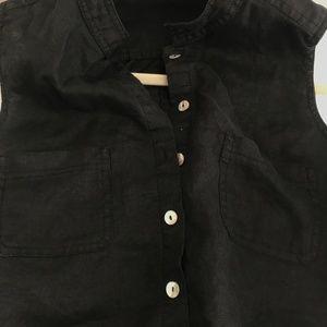 Vintage Pants - VINTAGE - Button Down Cargo style Jumpsuit